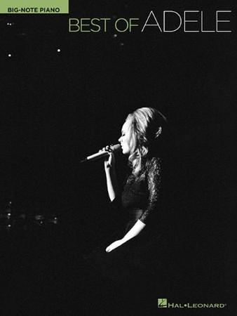 Best of Adele (Hal Leonard Big-Note Piano)