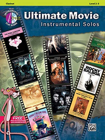 Ultimate Movie Instrumental Solos: Clarinet, Book & CD (Ultimate Pop Instrumental Solos Series)