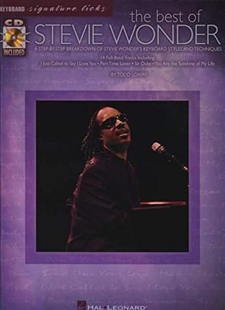 The Best of Stevie Wonder (Keyboard Signature Licks)
