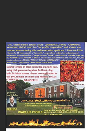 Governor Charlie Baker's satanic court: whistleblower on FRAUD