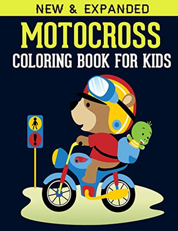 Motocross Coloring Book For Kids: Motocross Madness Gray scale Coloring Book for Kids : 30 coloring pages of motocross, motorcycles, dirt bikes, racing, motocross stunts and more - 9781672671439