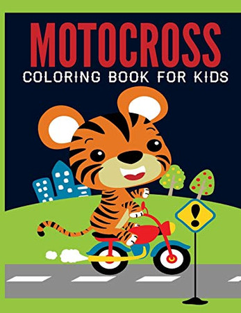 Motocross Coloring Book For Kids: Motocross Madness Gray scale Coloring Book for Kids : 30 coloring pages of motocross, motorcycles, dirt bikes, racing, motocross stunts and more - 9781672671705