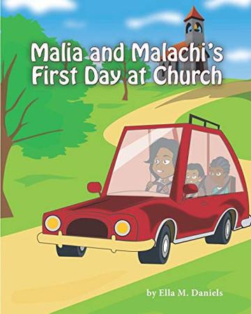 Malia and Malachi's First Day at Church