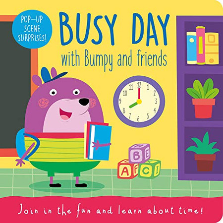 Busy Day with Bumpy and Friends (Bumpy the Bear - Flip up Flaps)