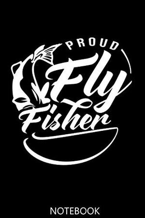 Fly Fisher: A 100 Page Notebook of College Ruled Interior