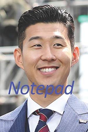 Son Heung Min notepad: Son Heung Min notepad