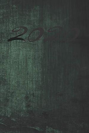 Grand Fantasy Designs: 2020 calligraphy green - Notebook 6x9 checkered