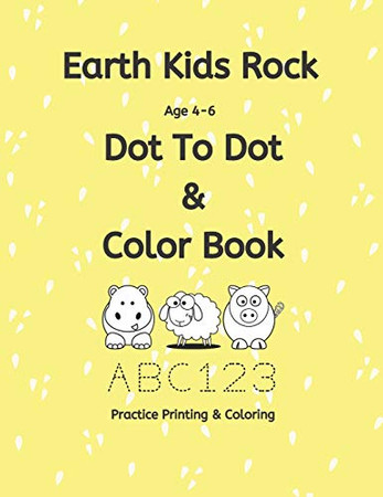 Earth Kids Rock Dot to Dot and Color Book (Earth Kids Rock Dot to Dot Color Book)
