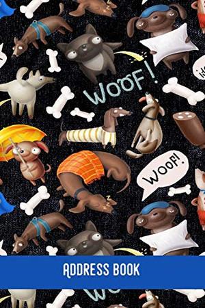 WOOF! Address Book: Dog love -