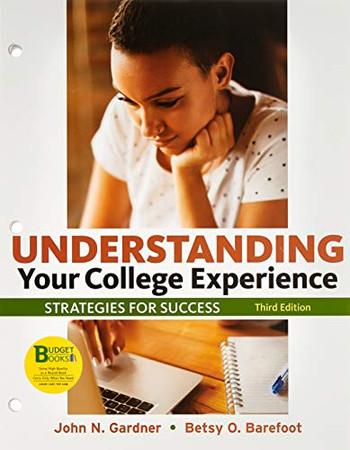 Loose-leaf Version for Understanding Your College Experience 3e & LaunchPad for Understanding Your College Experience 3e (Six-Months Access)