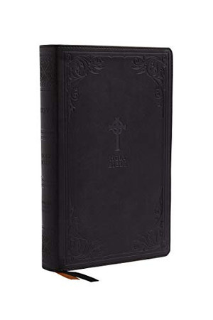 NRSV, Catholic Bible, Gift Edition, Leathersoft, Black, Comfort Print: Holy Bible