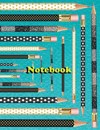 Notebook: Ruled Notebook college - pencils kingdom 1 - 120 Pages - Large (8.5 x 11 inches)