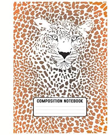 Composition Notebook: School Subject Book Notes | Pretty Faux ... Teacher| Women| Cheetah |Leopard| Spots