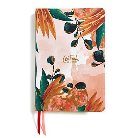RVR1960 Centrada en Cristo, floral símil piel con índice: Biblia devocional para mujeres (Spanish Edition)