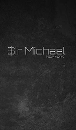 $ir Michael branded limited edition designer Blank creative Journal - Hardcover