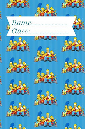 Name/Class: The Simpsons Notebook