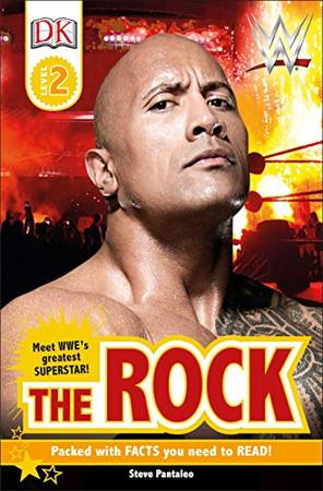 DK Reader Level 2:  WWE The Rock (DK Readers Level 2)