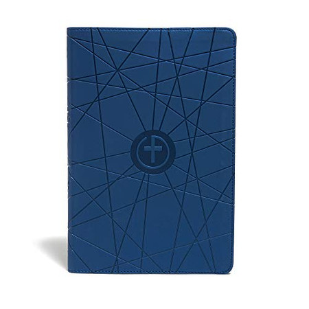 CSB One Big Story Bible, Blue LeatherTouch