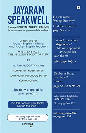 Jayaram Speakwell: A Unique Spoken English Trainer
