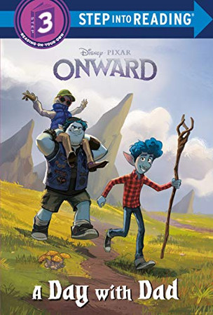A Day with Dad (Disney/Pixar Onward) (Step into Reading)