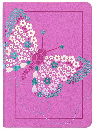 The Passion Translation New Testament (2020 Edition) Girls Youth - Butterfly