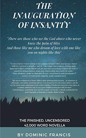 The Inauguration of Insanity (an erotic novella)