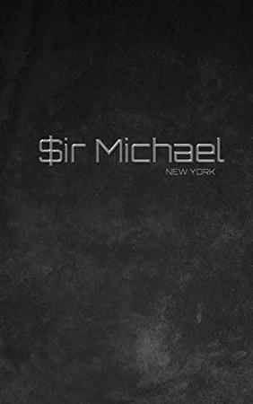 $ir Michael branded limited edition designer Blank creative Journal - Paperback