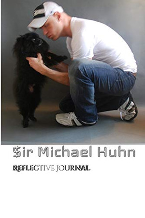 $Iir Michael with Benji dog Pomeraian creative blank journal - Paperback