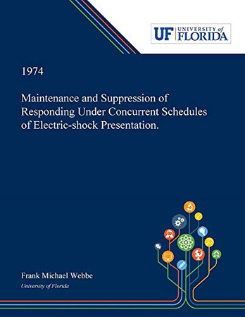 Maintenance and Suppression of Responding Under Concurrent Schedules of Electric-shock Presentation.