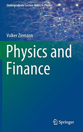 Physics and Finance (Undergraduate Lecture Notes in Physics)