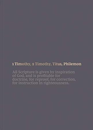 NKJV Bible Journal - 1-2 Timothy, Titus, Philemon, Paperback, Comfort Print: Holy Bible, New King James Version