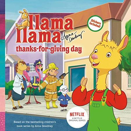 Llama Llama Thanks-for-Giving Day
