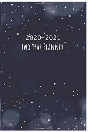 2020-2021 Two Year Planner: Monthly Pocket Planner  :  Two-Year  Monthly Pocket Planner with Phone Book, 6 x 9, Password Log, Notebook, 24 Months ... Monthly Schedule Organizer, Agenda Planner)