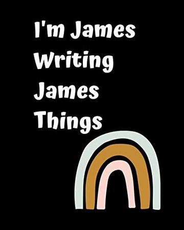 I'm James Writing James Things - Paperback