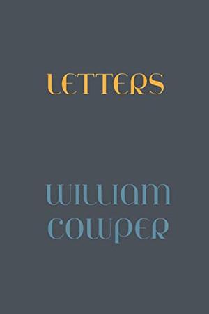 Letter of William Cowper