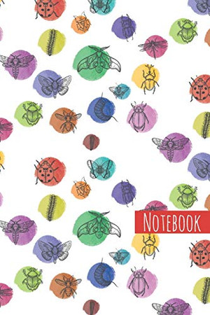 insects illustration: notebook