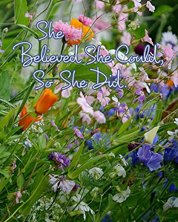 She Believed She Could, So She Did - 9780464317869