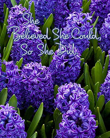 She Believed She Could, So She Did - 9780464314240