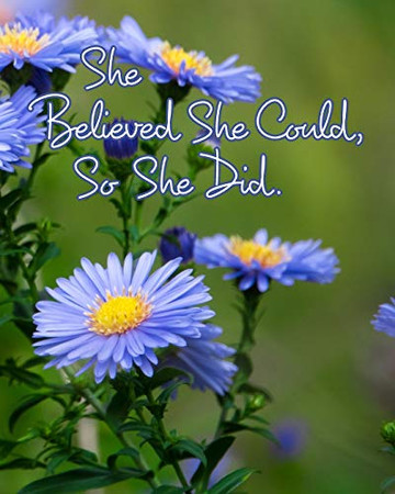 She Believed She Could, So She Did - 9780464314158