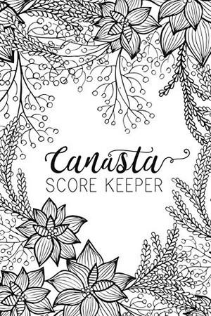 Black & White Canasta Score Keeper