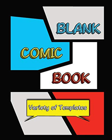 Blank Comic Book - 9781715740474