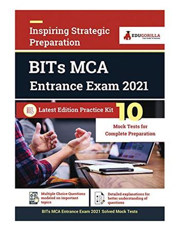 BITs MCA Entrance Exam 2021 10 Mock Test