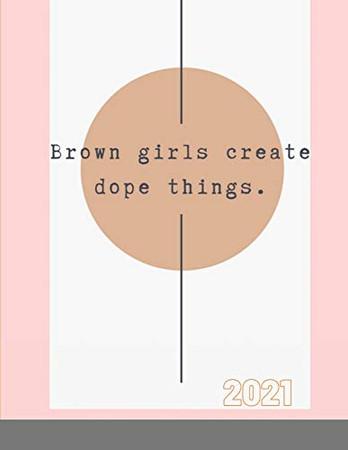 2020 Brown Girls Dope Things Planner
