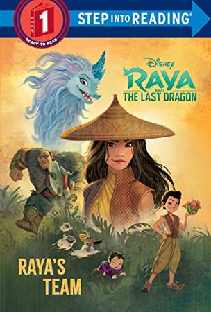 Raya's Team (Disney Raya and the Last Dragon) (Step into Reading) - Library Binding
