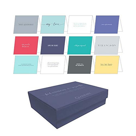 Salutations & Signoffs Notecards: 12 Deluxe Notecards & Envelopes