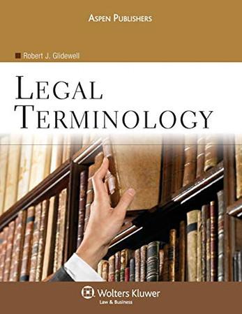 Legal Terminology (Aspen College)