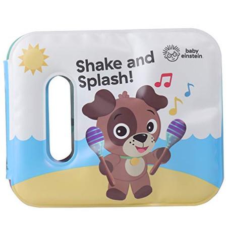 Baby Einstein - Shake and Splash! Rattle Bath Book - PI Kids