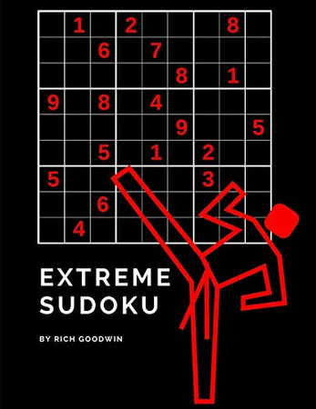 Extreme Sudoku: 100 Difficult Level 4 Puzzles