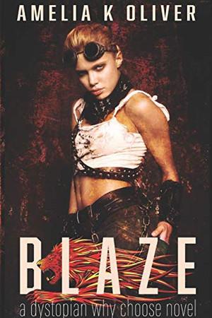 Blaze: A Dystopian, Reverse Harem, Paranormal Romance Novel