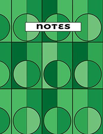 60's Stylized Notebook: (Green)